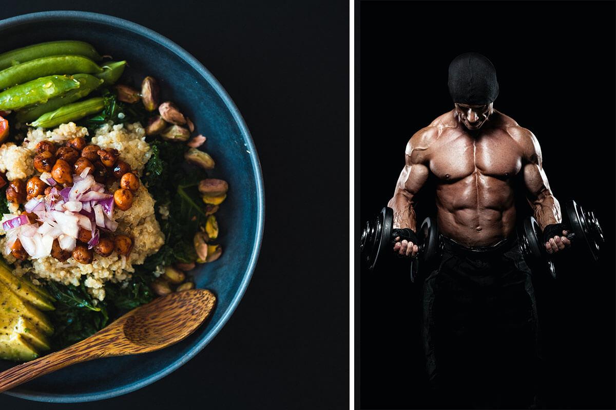 Muskelaufbau mit veganer Ernährung – Infos zu Proteinen & Co.