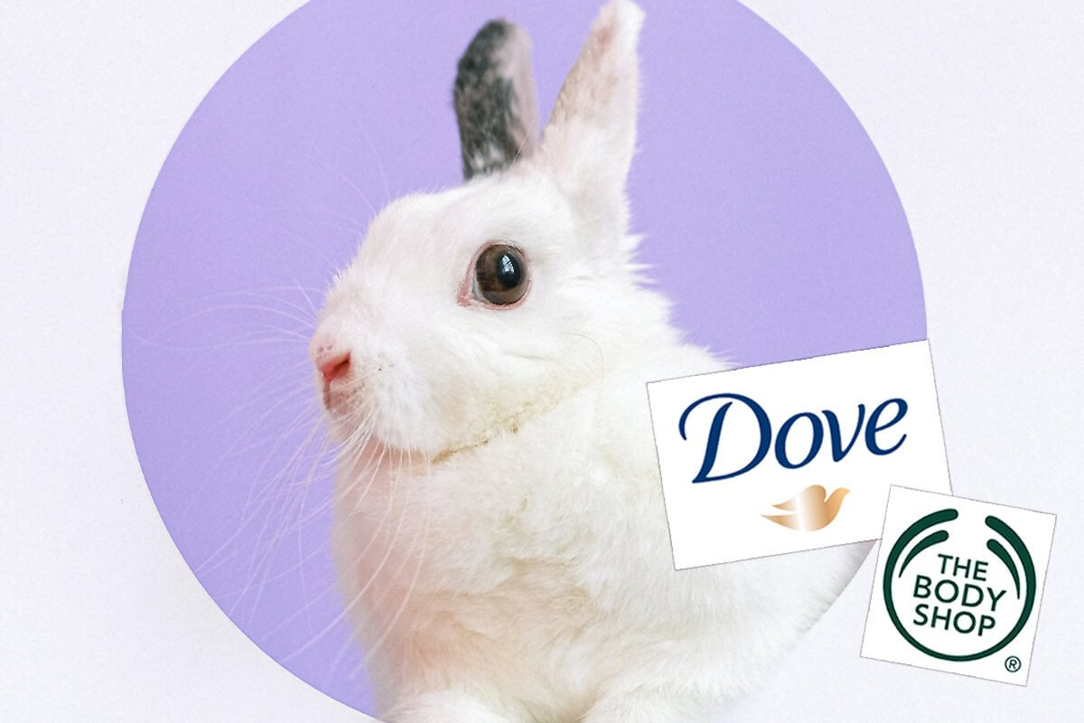 Dove & The Body Shop fordern Verbot von Tierversuchen